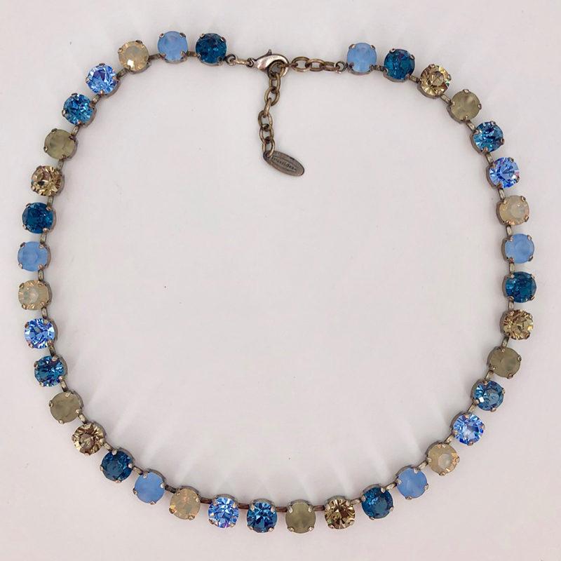 Stikkelorum Halskette Stk0001 Blau