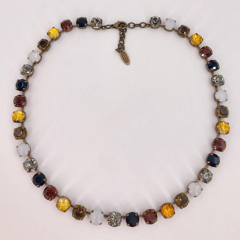 Stikkelorum Halskette Stk0001 Braun