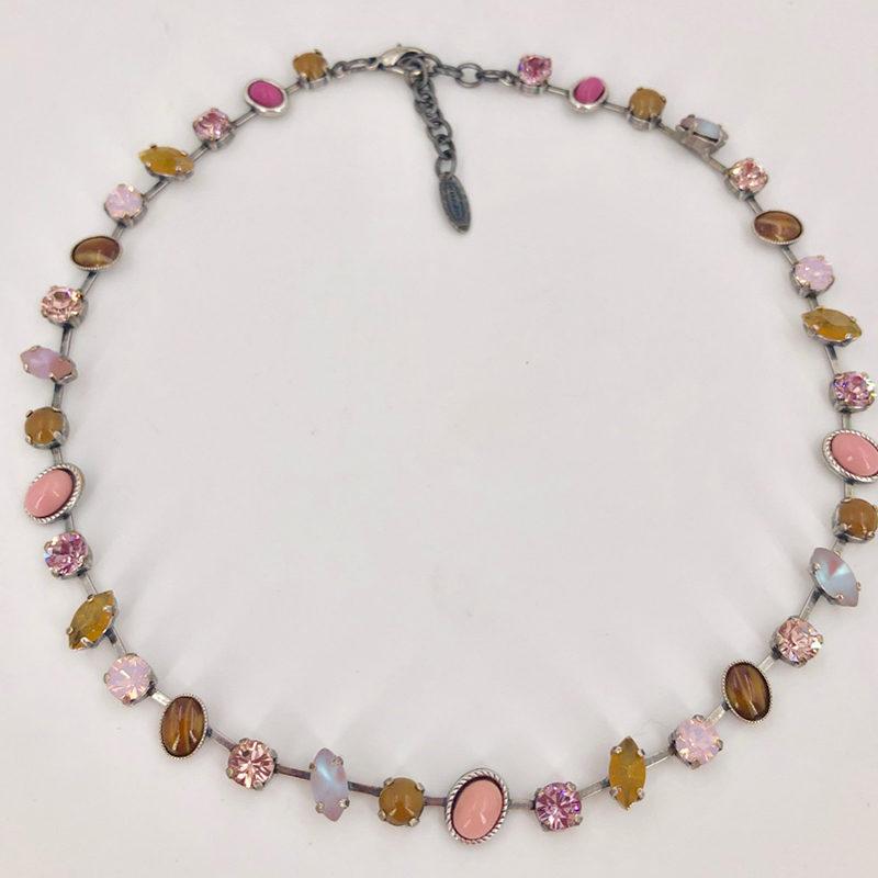 Stikkelorum Halskette Stk0009 Rosa