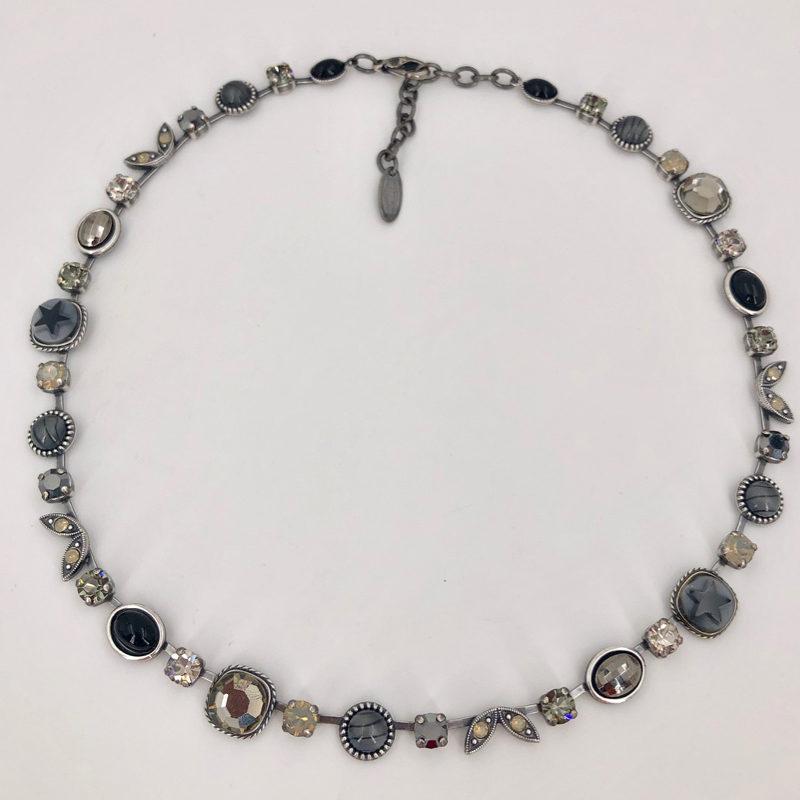 Stikkelorum Halskette Stk0010 Schwarz