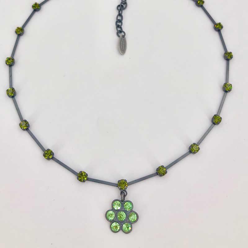 Stikkelorum Halskette Stk0018 Grün