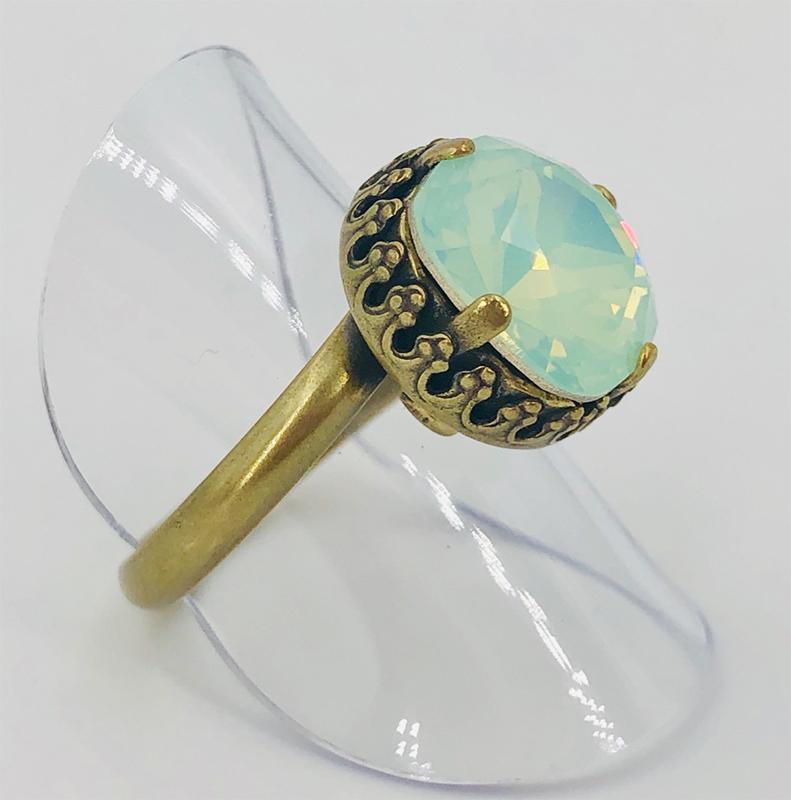 Stikkelorum Ring Str0030 Chr.opal 1