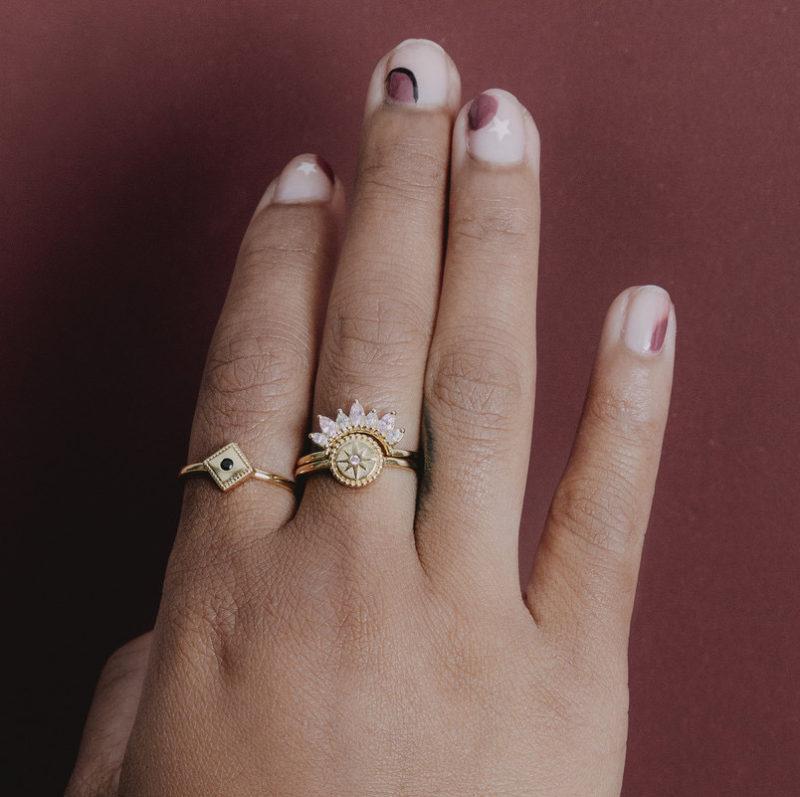 Atlitw Ringe Gold 8843