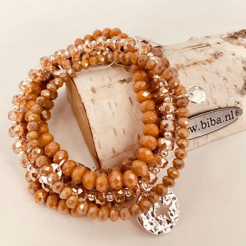 Biba Armband Set Beige Mix 1 012