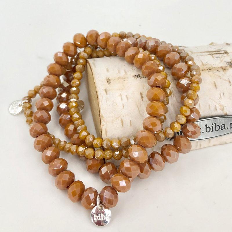 Biba Armband Set Beige Mix 4 022