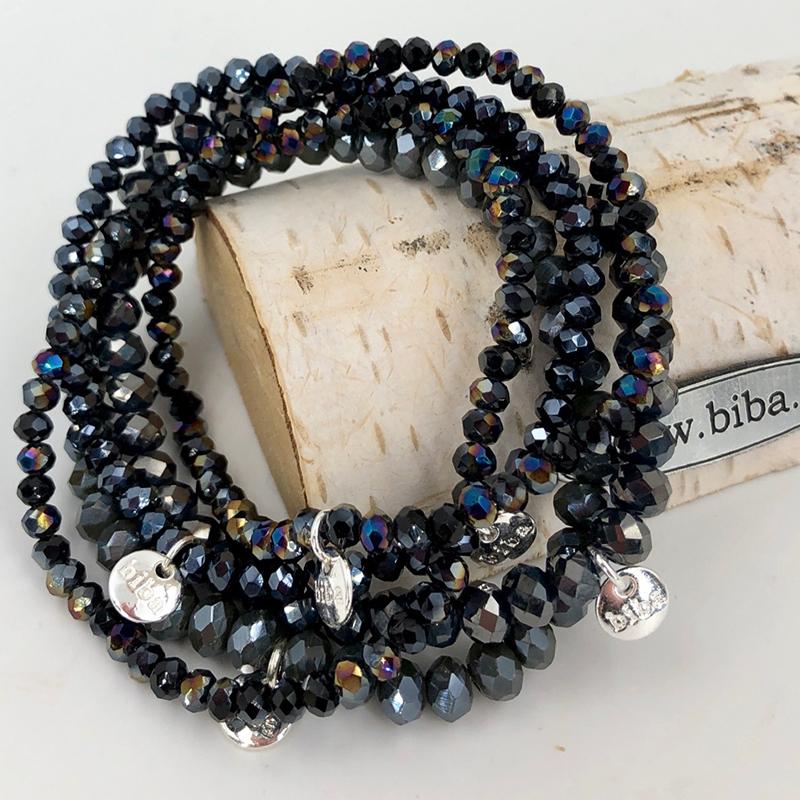 Biba Armband Set Blau Mix 1 016