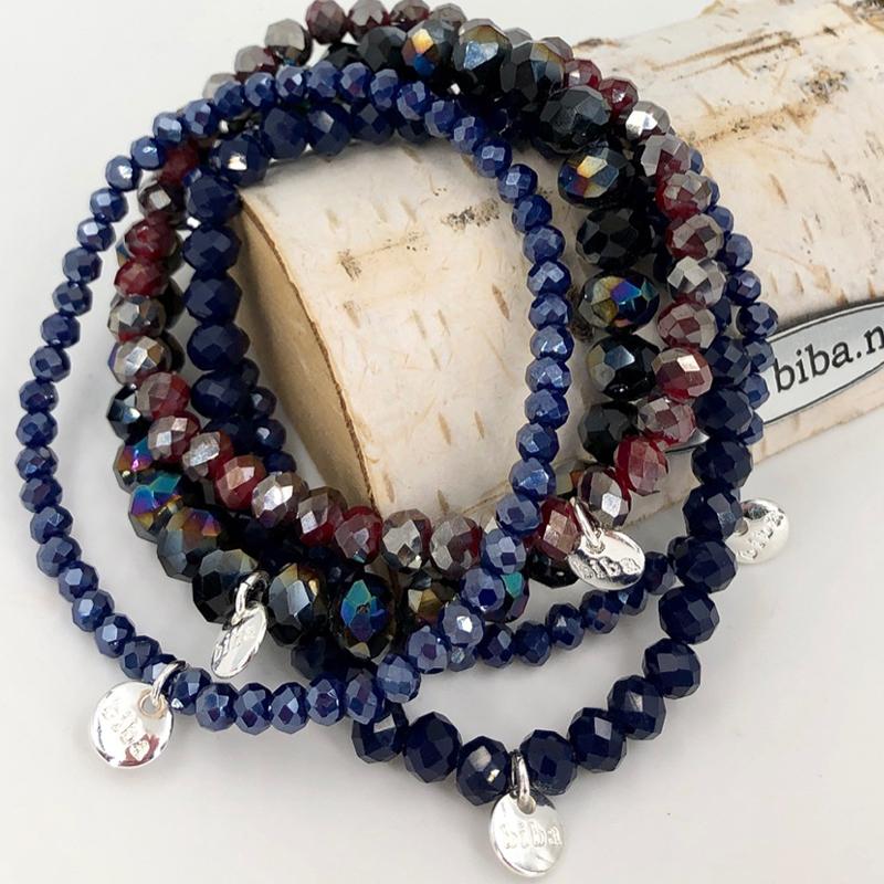 Biba Armband Set Blau:rot Mix 1 031