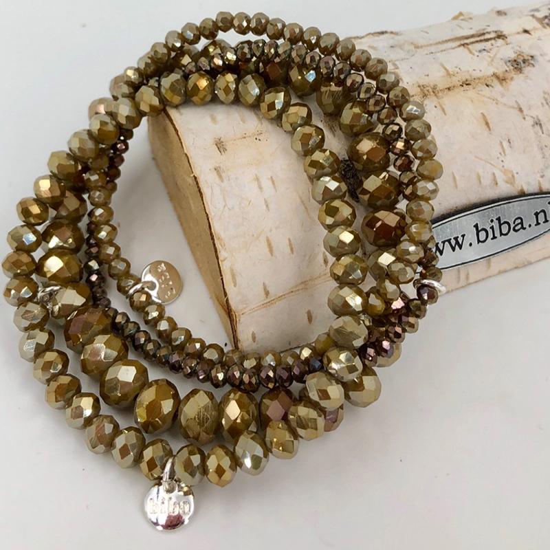 Biba Armband Set Gold Mix 2 004