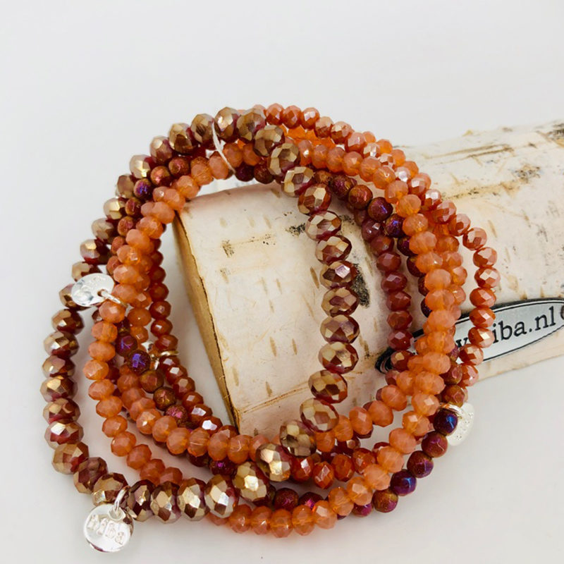 Biba Armband Set Koralle Mix 1 021