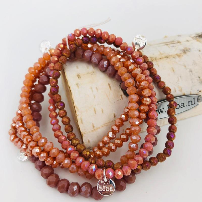 Biba Armband Set Koralle Mix 3 003