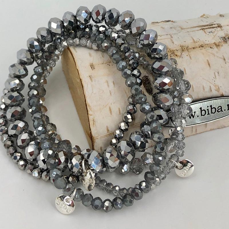 Biba Armband Set Silber Mix 1 025