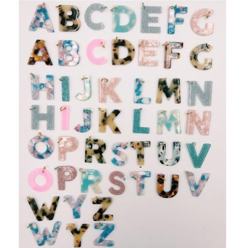 Pink Buchstaben