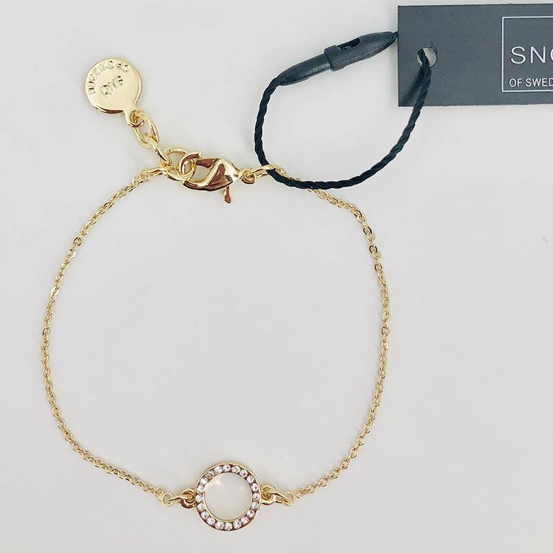 SnÖ Of Sweden Armband Gold 027