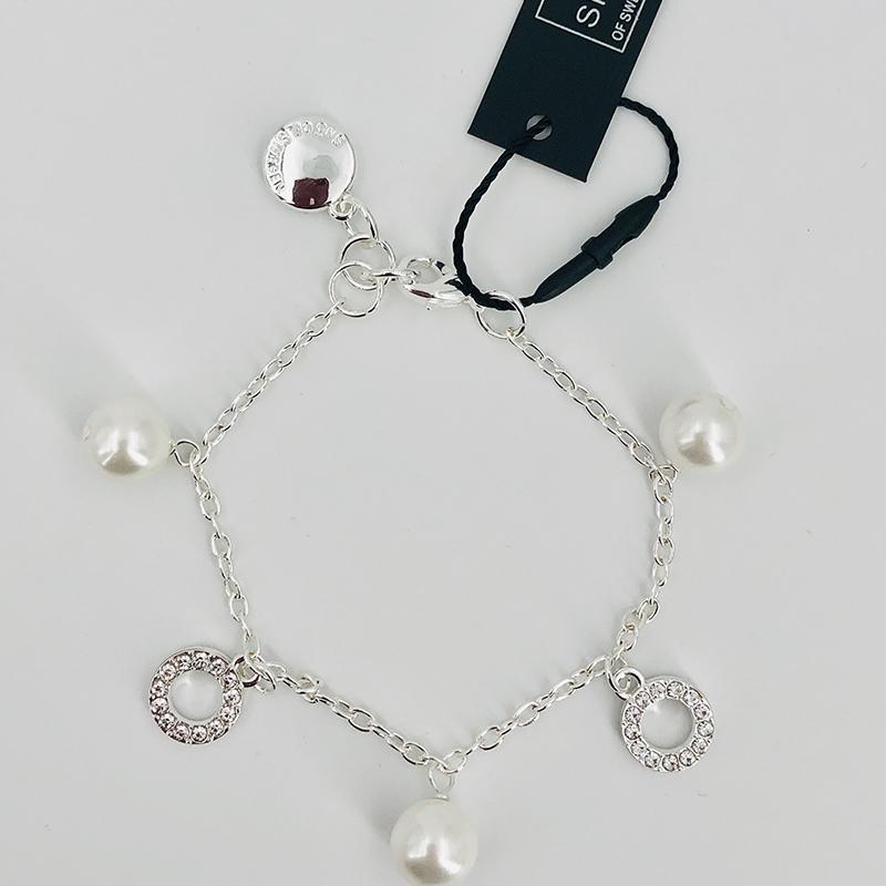 SnÖ Of Sweden Armband Silber 012