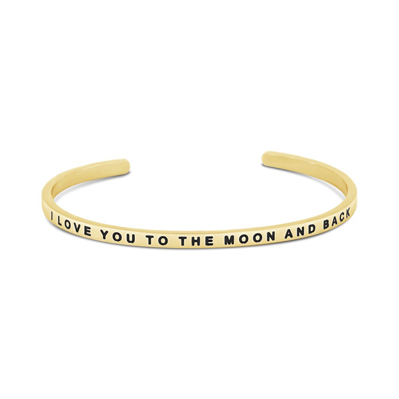 The Simple Pledge 25 Gold I Love You To The Moon And Back