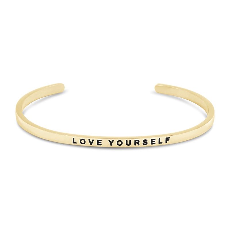 The Simple Pledge 26 Gold Love Yourself