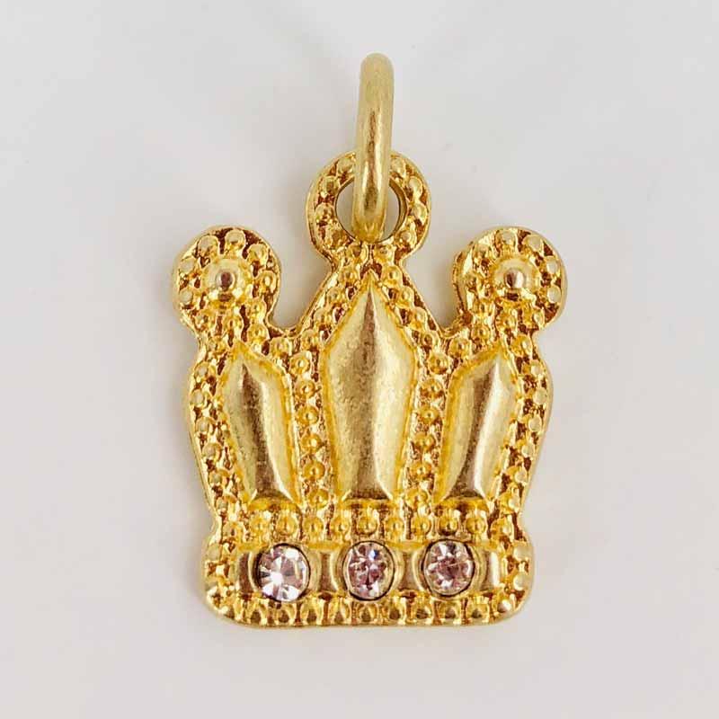 Schautime Amulett Krone Gold S 1