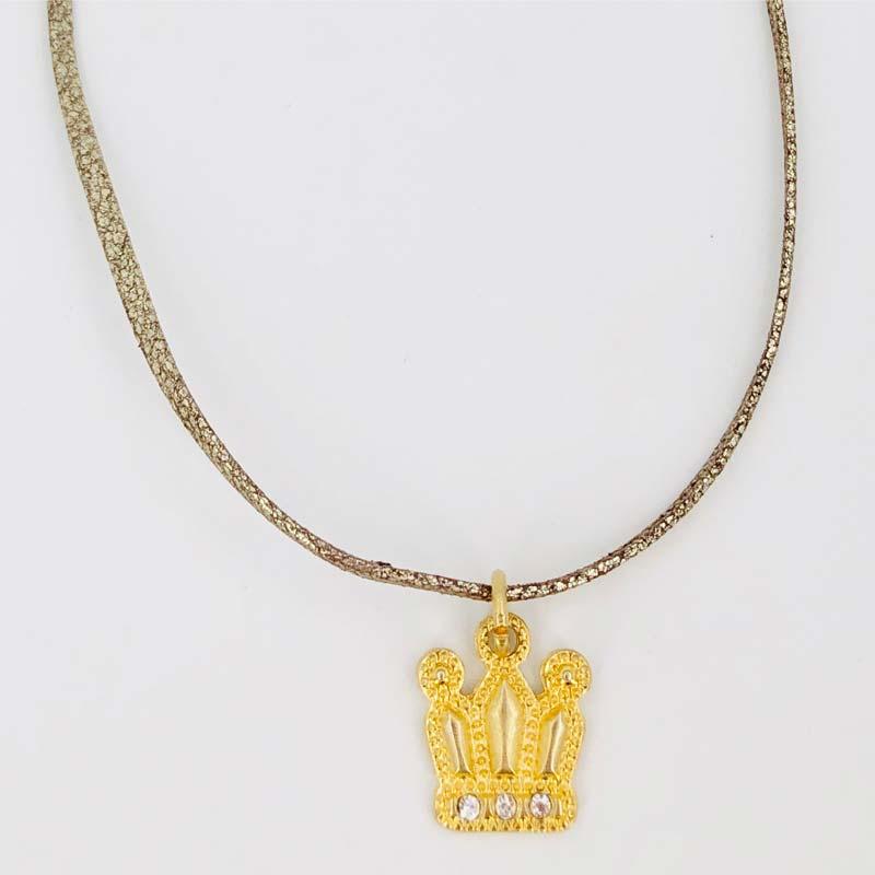 Schautime Amulett Krone Gold S 2