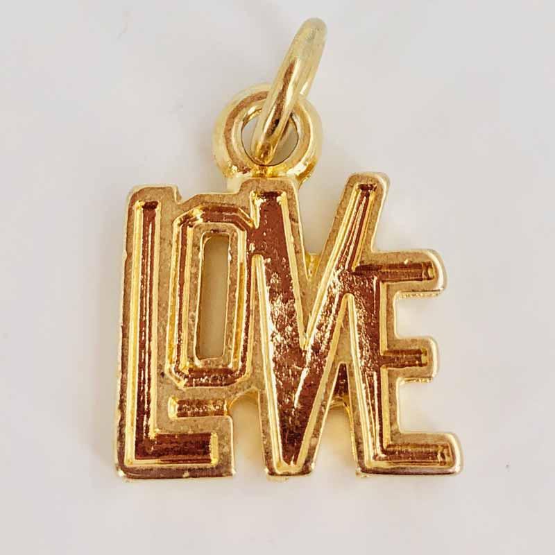 Schautime Amulett Love Gold S 1