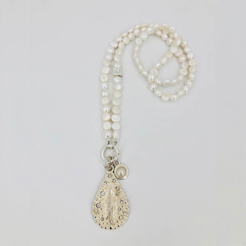 Schautime Amulett Madonna Silver L 2