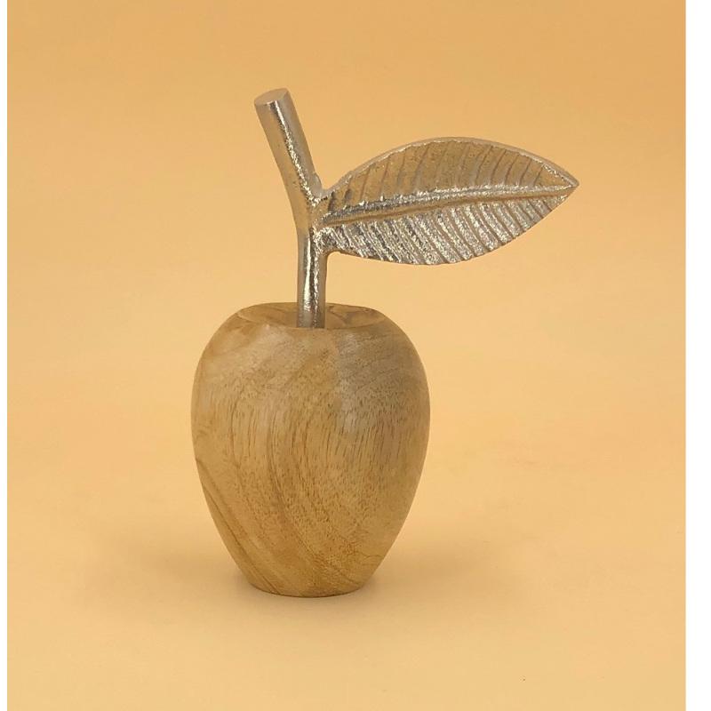 Deko Apfel Holz Klein
