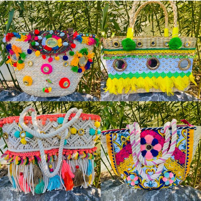 Bild: NEU: Hippie-Taschen von POSITANO