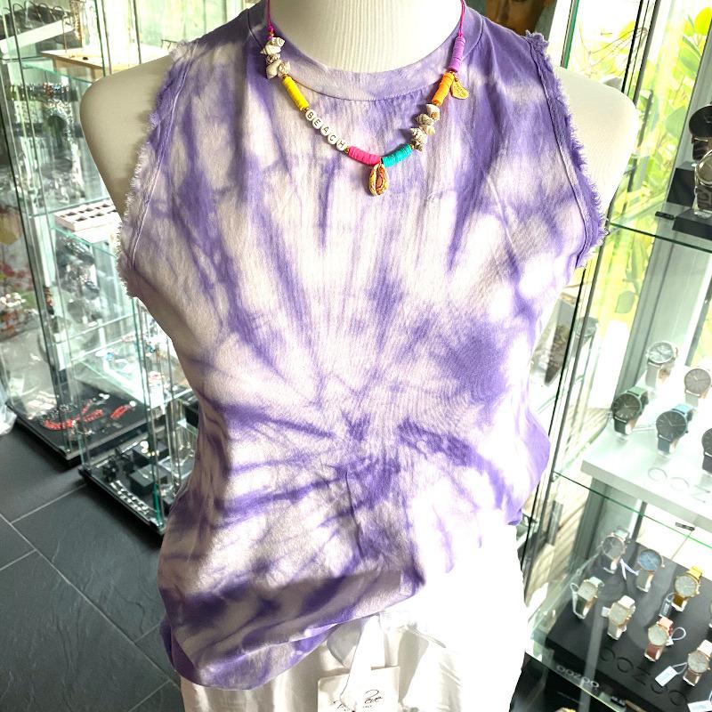 Batik Top Lila