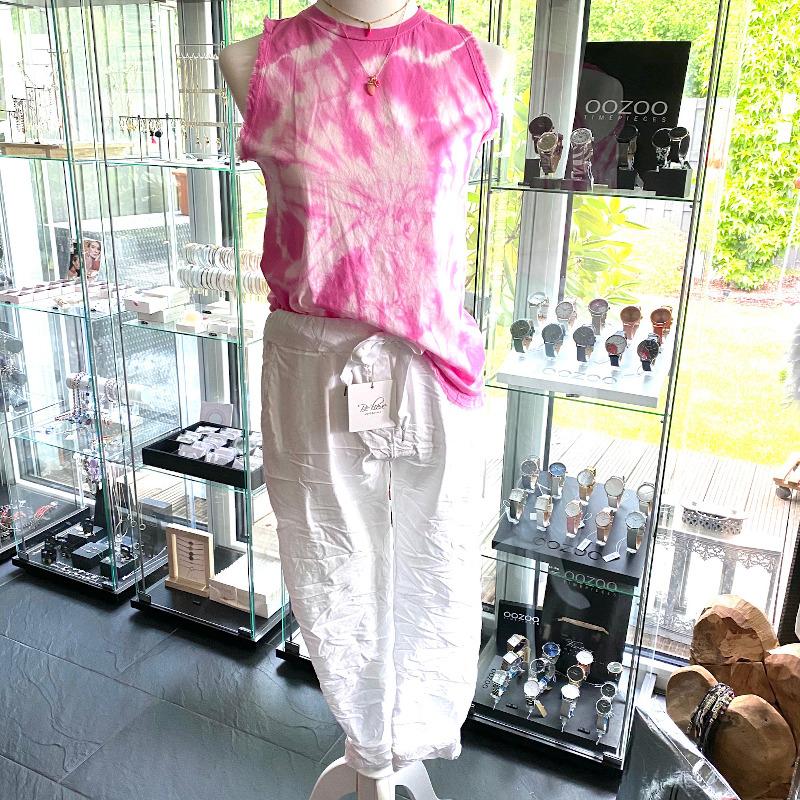 Batik Top Pink 2