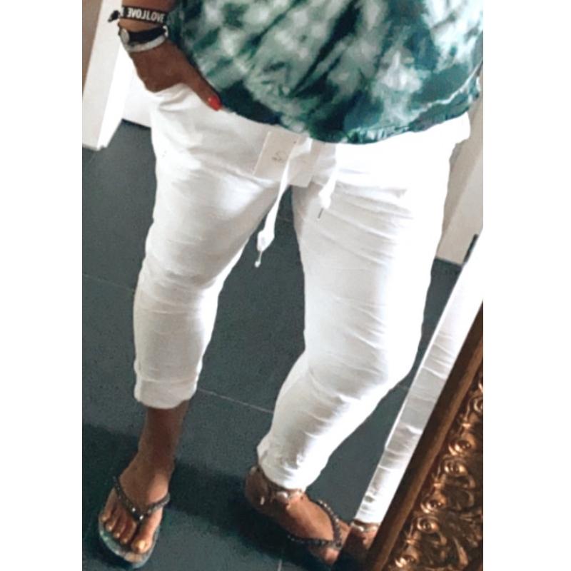 Hose Weiß 3
