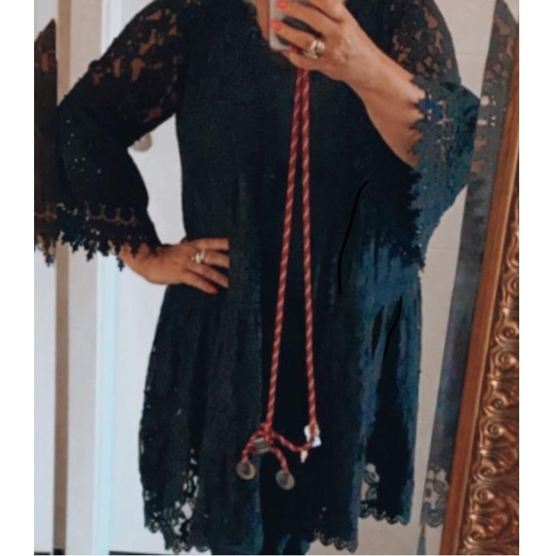 Kimono Schwarz 1