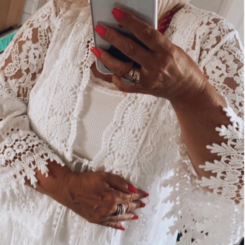 Kimono Weiß