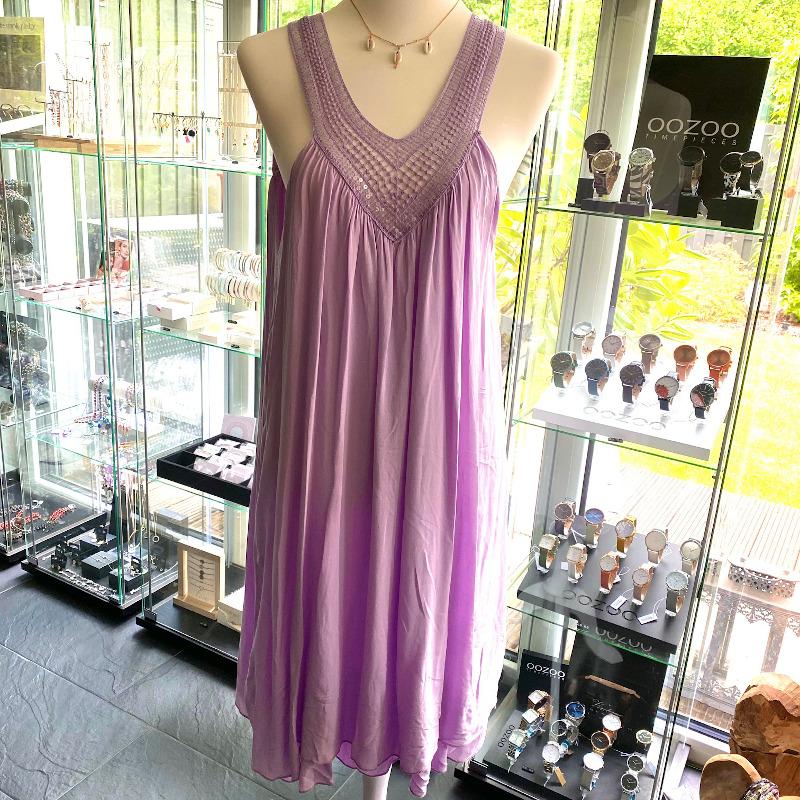 Kleid Lila 3