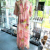 Langes Kleid Rosa 1