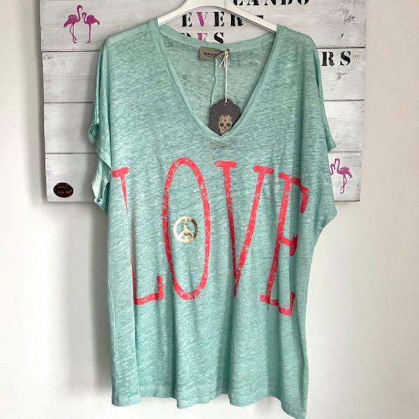 Shirt Love Mint