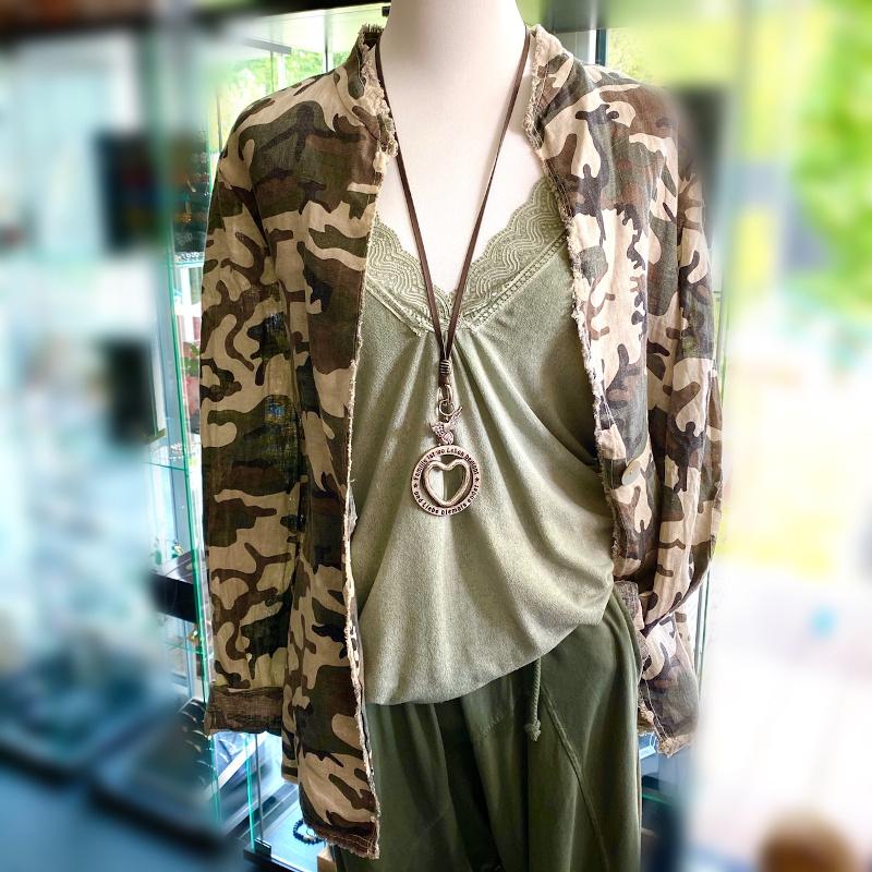 Jacke Camouflage 1