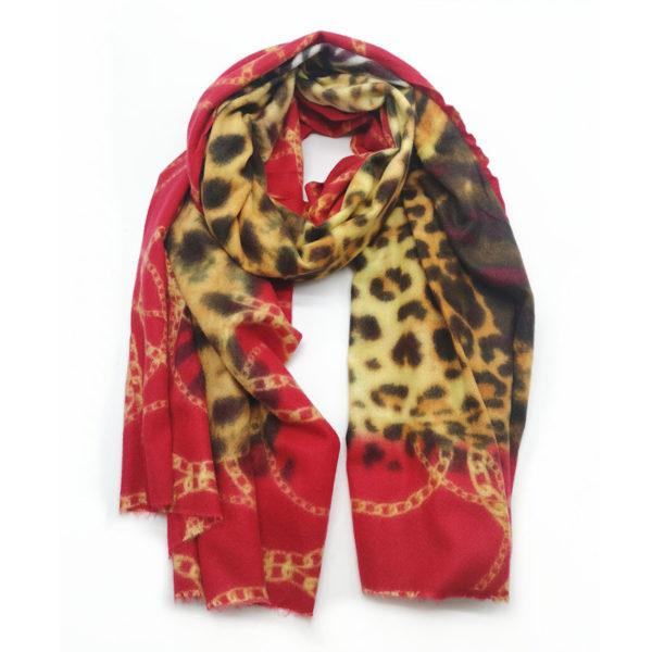 Fashion Kingdom Echarpes113 Red 1