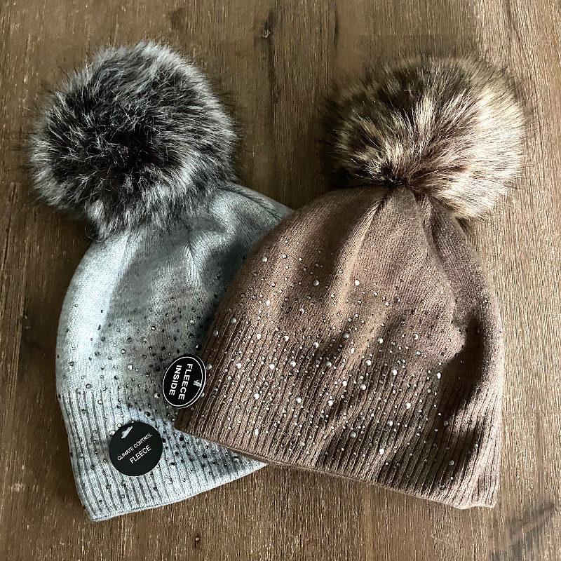 Mütze Glitzer