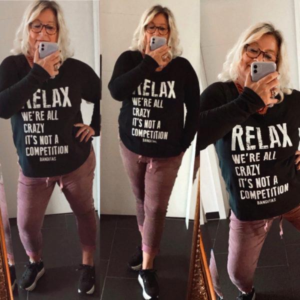Relax Schwarz 3 Mal