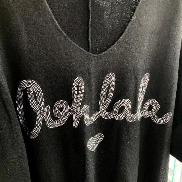 Shirt Oohlala Schwarz