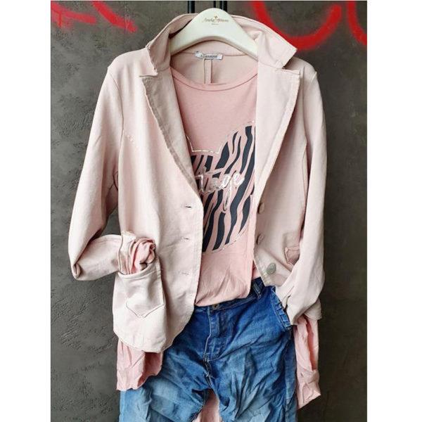 Blazer Cotton Rosa J 5311uni