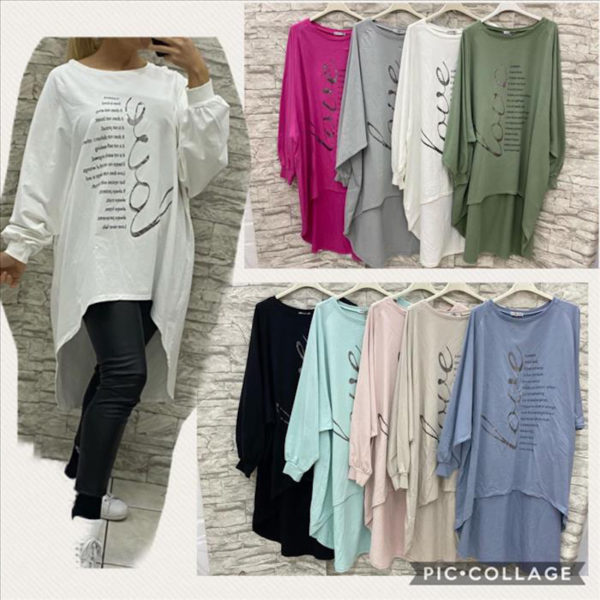 Shirt Love Oversized 26560