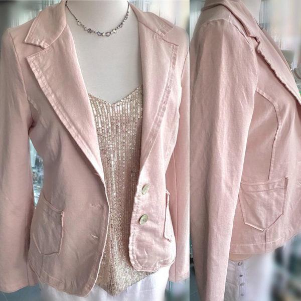 Blazer Cotton Rosa