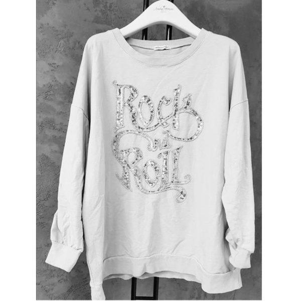 Shirt Rock And Roll Weiß