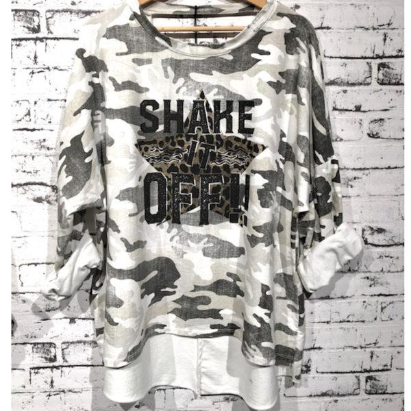 Shirt Camouflage Weiß 6