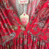 Kleid Alina Paisely Rot 2