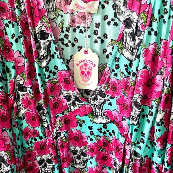 Kleid Skulls 4