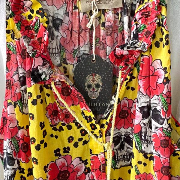 Londra Skull Gelb 2