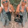Pantolette Schwarz Perlen C