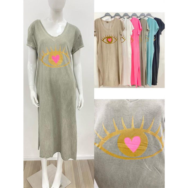 Kleid Auge 8893c