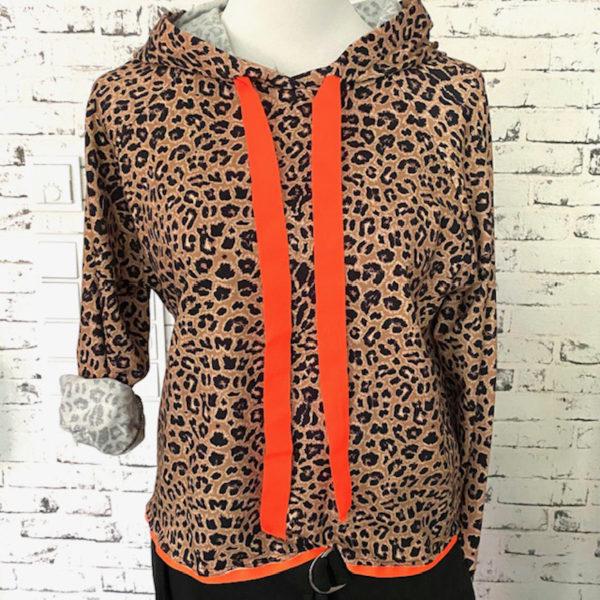 Hoodie Leo Orange Variante